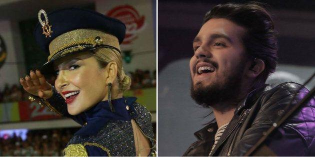Os cantores Claudia Leitte e Luan Santana foram alguns dos beneficiados pela Lei