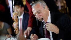 Temer: Reabertura da China à carne brasileira mostra 'confiabilidade de defesa