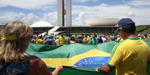 Defesa da Operação Lava Jato reune manifestantes em todo o