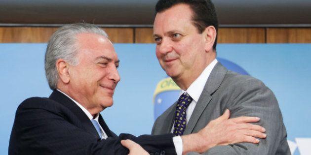 Presidente Michel Temer e ministro da Ciência e Tecnologia, Gilberto
