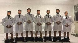 O que sabemos sobre a foto dos estudantes de medicina do ES que revoltou as redes