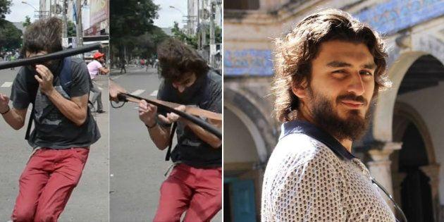 Estudante de Ciência Sociais, Matesu Ferreira sofreu traumatismo cranioencefálico após PM atingí-lo no...