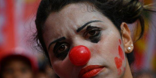 As imagens das comemorações e dos protestos no Dia do Trabalho pelo Brasil e no