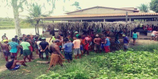 O ataque ocorreu no Povoado das Bahias, área de etnia