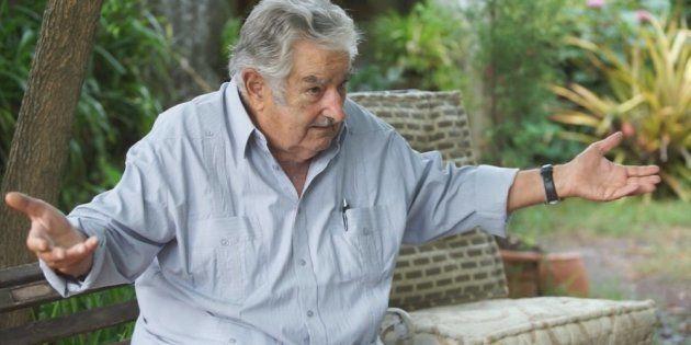 Pepe Mujica em entrevista para Pedro