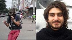 11 dias após ser agredido por PM na greve geral, estudante sai da