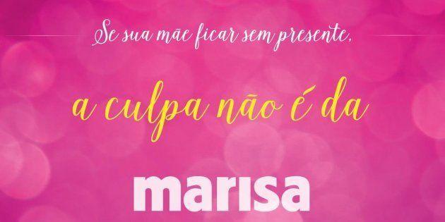 Campanha do Dia das Mães da Marisa chama atenção da