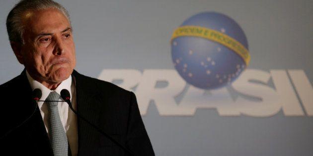 Na tarde de hoje, o presidente afirmou que não renunciará e negou participação na propina para Cunha...