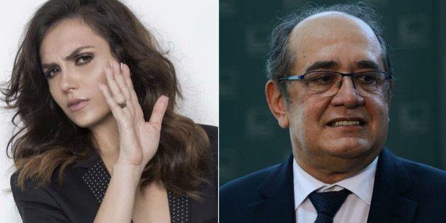 Atriz Monica Iozzi téra de pagar R$ 30 mil em indenização a ministro do Supremo Tribunal Federal Gilmar