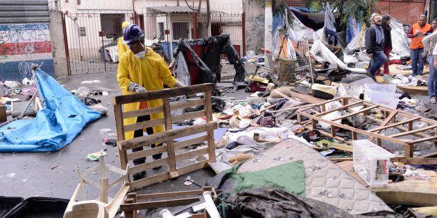 No último domingo (21), uma operação policial surpreendeu os frequentadores da Cracolândia em São