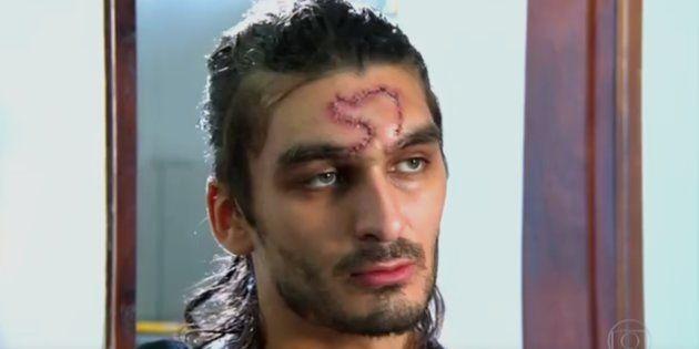 Estudante de Ciências Sociais Mateus Ferreira, foi agredido por policial militar na Greve Geral, em 28...