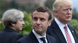 Macron cutuca Trump sobre acordo climático: 'Faça o planeta grande outra