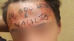 """O crowdfunding para remover a tatuagem """"eu sou ladrão e"""