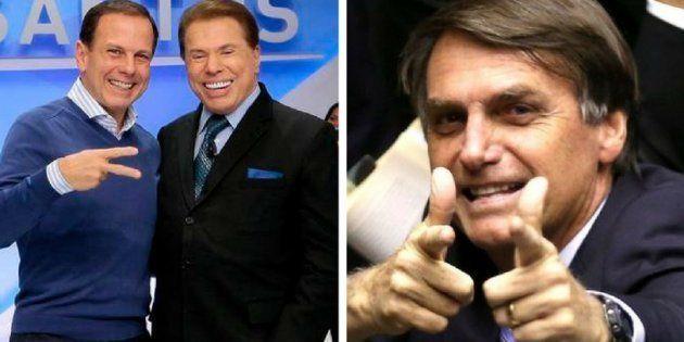 Silvio Santos chama Doria de 'boyzinho' e sugere chapa com Bolsonaro para