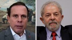 Doria comemora condenação de Lula: 'Viva a Justiça, viva Sérgio Moro, viva o
