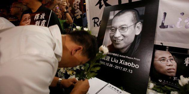 Liu Xiaobo foi libertado da prisão por razões médicas no mês passado, para tratar de um câncer de fígado...