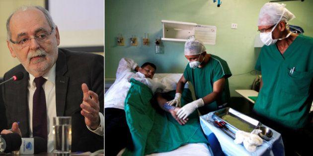Presidente do Conselho Federal de Medicina, Carlos Vital, critica má gestão do sistema público de