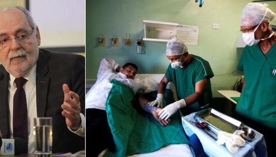 'Moeda de troca por interesses políticos na saúde tem que acabar', diz