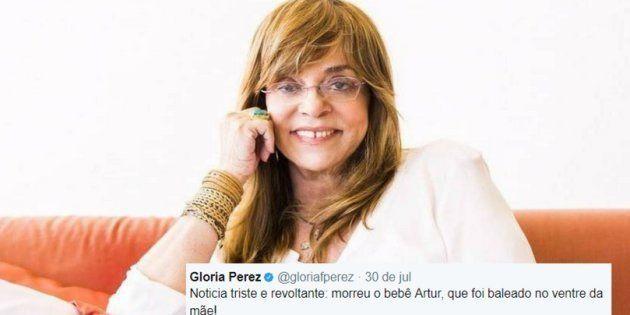 Gloria Perez foi acusada de 'idolatrar o