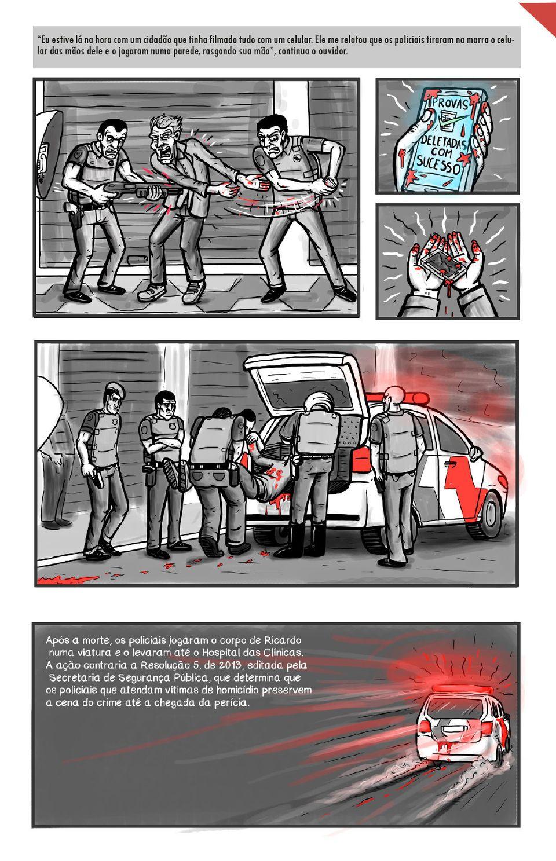 O dia em que Ricardo Silva, o Negão, foi executado pela PM de SP, em