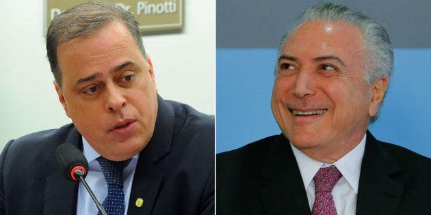 Câmara dos Deputados vota parecer de Paulo Abi-Ackel (PSDB-MG) para barrar denúncia contra presidente...