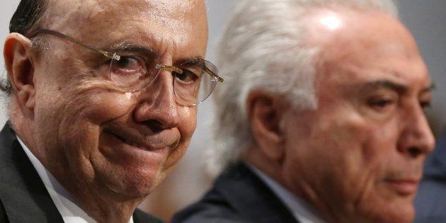 Aumento do déficit foi acertado entre o ministro Henrique Meirelles e o presidente Michel