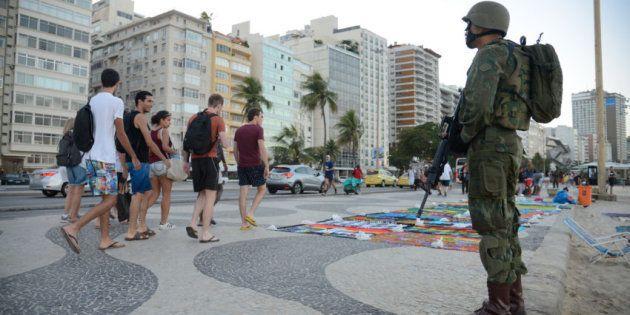 Forças Armadas nas ruas do Rio de