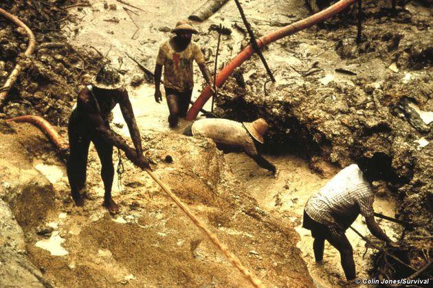 Segundo a ONG, garimpeiros devastaram os Yanomami entre as décadas de 60 e 80, e ainda são uma ameaça...