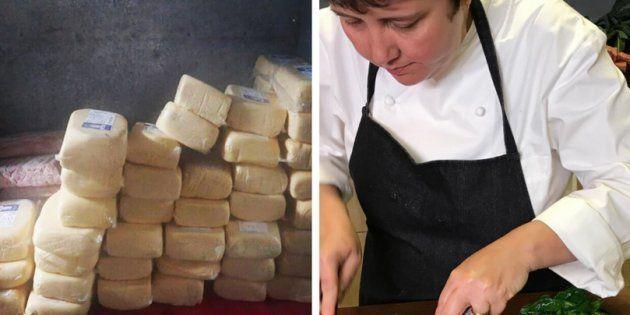 O desabafo da chef que teve 160kg de alimentos desperdiçados por falta de selo