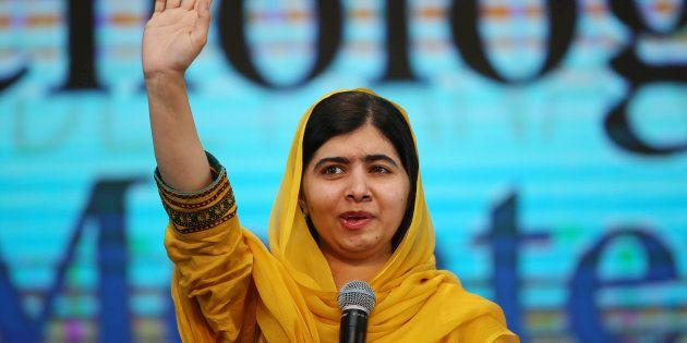 Malala, venceu o Prêmio Nobel da Paz em 2014, por