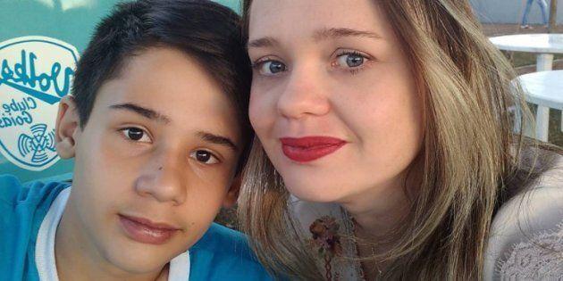No Instagram, Barbara Melo, mãe de João Pedro, uma das vítimas, fez um