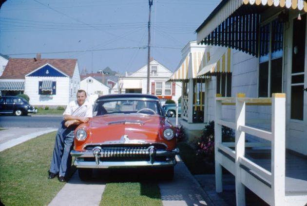 O sonho americano do pós-guerra: uma casa nos subúrbios e um carro