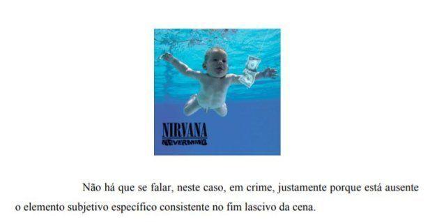 Capa do disco do Nirvana é usada para explicar quando uma imagem tem caráter lascivo e quando ela não