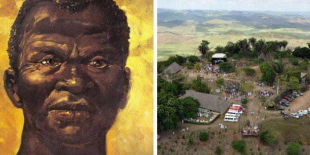 O Quilombo dos Palmares surgiu no século 16. Residiam nele escravos fugidos das capitanias da Bahia e...