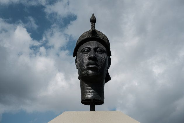 O monumento a Zumbi dos Palmares, o líder da resistência afro-brasileira no Rio de