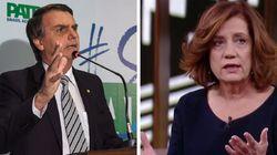 Bolsonaro reage a críticas de Míriam Leitão: 'Marxista de ontem continua a