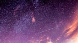 Vem ver as fotos incríveis da chuva de estrelas cadentes desta