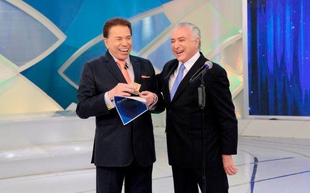 Silvio Santos defendeu a reforma da Previdência do governo Michel