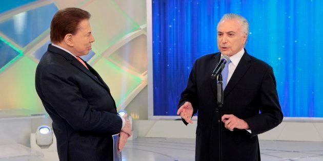 Silvio Santos sabatina Michel Temer sobre a reforma da