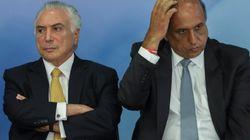 No Rio, Temer anuncia criação do Ministério Extraordinário da Segurança