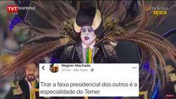 'Sumiço' de faixa presidencial de Vampirão da Tuiuti provoca debate sobre