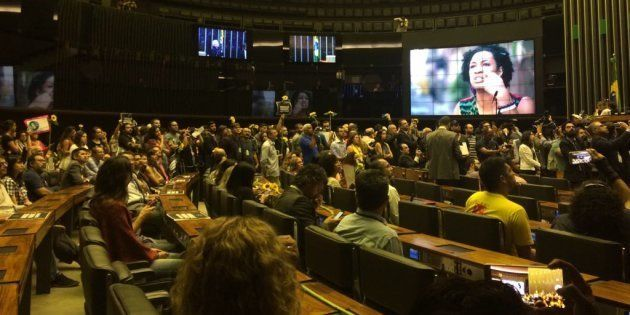 Câmara dos Deputados irá acompanhar investigações do assassinado da vereadora Marielle Franco (PSol),...