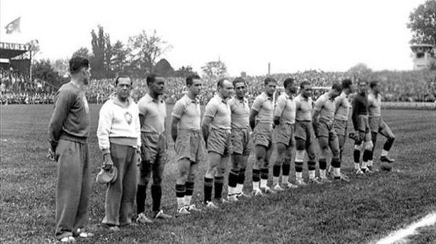 Copa de 1938 registrou a primeira vitória do Brasil em estreias: 6 a 5 na