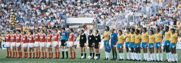 URSS e Brasil fizeram um jogaço na estreia da Seleção na Copa de 1982, que terminou com vitória
