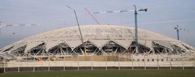 Cosmos Arena já teve data de inauguração adiada em duas