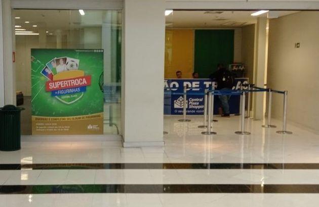 Balcão de Troca localizado no Central Plaza Shopping criou regras para evitar mercado