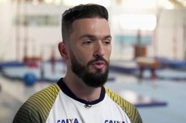 Diego Hypolito revelou ter sofrido bullying de atletas mais