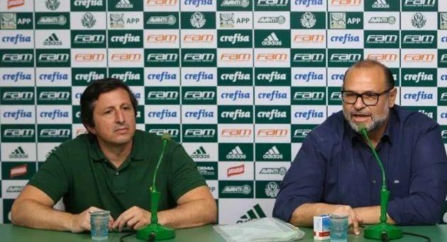 Vinicius Martins (à esquerda) trabalhou uma década no departamento médico do