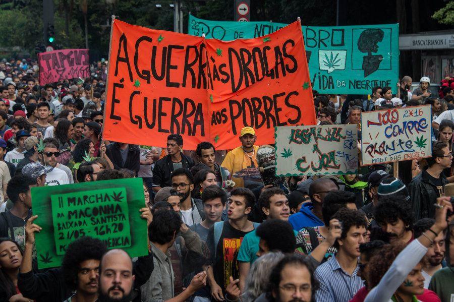 Marcha da Maconha de 2016, em São