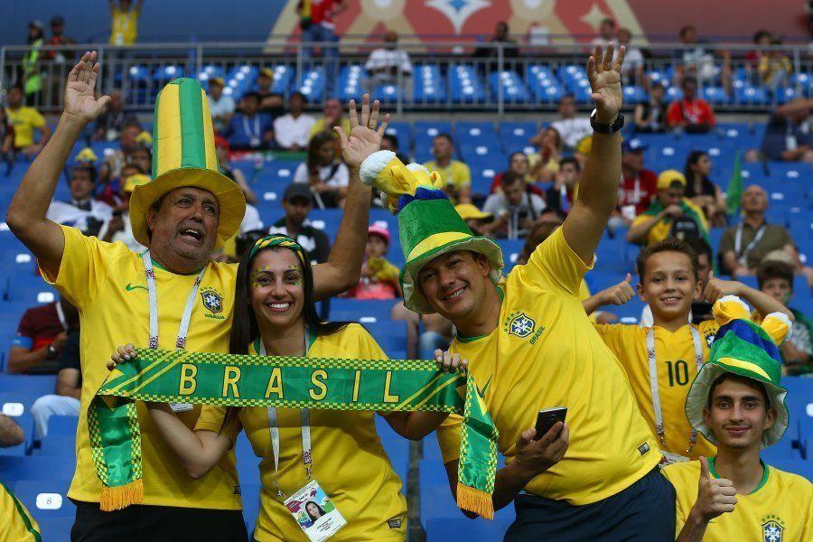 Brasil na Copa da Rússia: 8 cenas da energia da nossa torcida na sede da